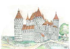 draft of castle