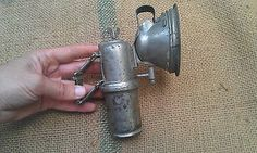 ANTIQUE GERMAN CARBIDE BIKE LAMP FAVORIT in Collectibles | eBay