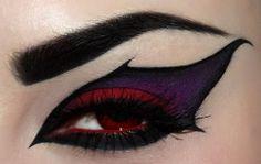dark beauty make-up