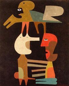The Secret Link 1964 by Victor Brauner
