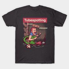 Tubespotting T-Shirt - Super Mario Bros T-Shirt is $14 today at TeePublic!