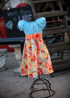 59781482fa3 Spring Pastel Bouquet Sash Peasant Dress Beautiful Color Combo for both  Spring   Summer Girls Sizes