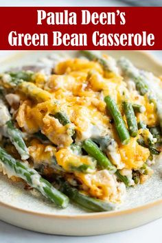 This Paula Deen's Green Bean Casserole recipe is an easy to make, with only simple ingredients, this recipe is perfect for the idea of side dishes for the holidays and family dinners. Your whole family will love it. Simple Green Bean Casserole Recipe, Best Green Bean Casserole, Greenbean Casserole Recipe, Casserole Recipes, Paula Deen Corn Casserole, Thanksgiving Recipes, Thanksgiving Casserole, Thanksgiving Sides, Holiday Recipes