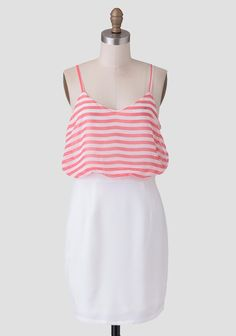 Darlene Striped Dress