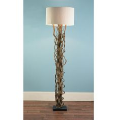 Curled Vines Floor Lamp - @Brenda Myers McGinnis This is a nice idea for the living room...