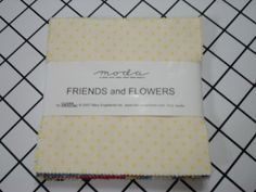 Moda Charm Pack   Friends and Flowers Mary by MySuiteRetreat