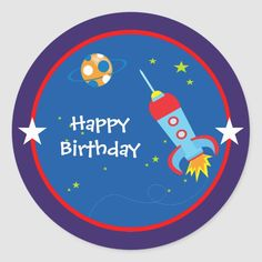 Cute Birthday Quotes, Girl Birthday, Happy Birthday, Star Party, Birthday Design, 1st Birthdays, Childrens Party, Outer Space, Custom Stickers