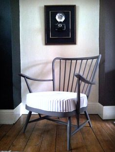Vintage Ercol Windsor Easy Chair