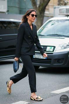 Paris Fashion Week Fall 2017 Street Style: Capucine Safyurtlu