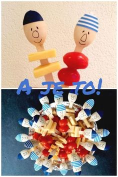 Buurman en Buurman #gezondetraktatie #ajeto Kids Party Treats, Healthy Treats For Kids, Birthday Treats, Party Snacks, Boy Birthday, Birthday Parties, Diy For Kids, Crafts For Kids, Little Presents