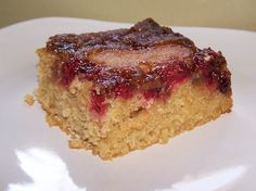 Cranberry Apple Upside Down Cake #TDayRoundUp Entry by @EZ Gluten Free