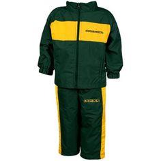 Oregon Ducks Infant Green Playbook Full Zip Jacket & Pants Set