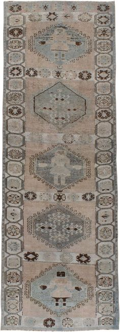Antique Bakhtiari Gallery Carpet, No.21498 - Galerie Shabab