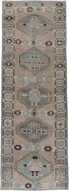 Antique Bakhtiari Gallery Carpet, No.21498 - Galerie Shabab