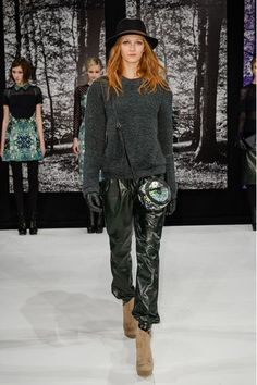new york fashion week 2014 | Charlotte Ronson - New York Fashion Week Otoño Invierno 2013-2014 ...