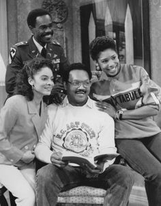 Jasmine Guy as Whitley Marion Gilbert Wayne Lou Myers as Vernon Gaines Jesse Jackson as himself Dawnn Lewis as Jaleesa Vinson Taylor(Lou Myers is not pictured, Glenn Turman is pictured on the upper left) Dawnn Lewis, Whitley Gilbert, Jasmine Guy, Black Sitcoms, Black Tv Shows, Sanford And Son, Comedy Tv Shows, World Tv, A Different World