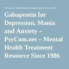 gabapentin side effects and withdrawal