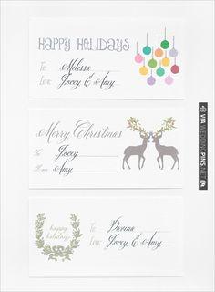 Free Holiday Labels   CHECK OUT MORE IDEAS AT WEDDINGPINS.NET   #printableweddingtemplates