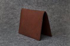 Card Wallet #3 - Brandy
