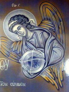 Byzantine Iconography - Angels SFANTUL ARHANGHEL GAVRIIL
