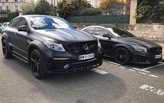 Instagram media by msmotors - AMG Gang!!! GLE 63S TopCar And CLA 45 AMG Full Black Mat By @msmotors & @pieromsmotors !!! #mercedes #gle #cla #cla45 #gle63 #amg #amazing #car #cars #auto #voiture #instacar #instacars #supercar #supercars #caroftheday #instafollow #followme #custom #wrap #wheels #bestoftheday #msmotors #black #ferrari #follow #63amg #style