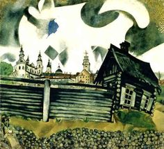 Marc Chagall, 1917, The House in Grey, 00001463-Z