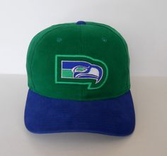 Vintage late-90s Seattle Seahawks strapback by Starter (pre-owned)