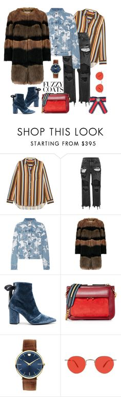 """n.t."" by steffilovesyou88 ❤ liked on Polyvore featuring Acne Studios, Alexander Wang, Givenchy, self-portrait, Marni, Movado, Garrett Leight and Gucci"