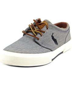 Polo Ralph Lauren Polo Ralph Lauren Rylander Men Moc Toe Canvas Blue...  ($52) ? liked on Polyvore featuring men\u0027s fashion, men\u0027s shoes, men\u0027s loafe\u2026