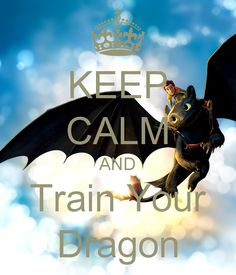 KEEP CALM AND Train Your Dragon - I NEED A DRAGON