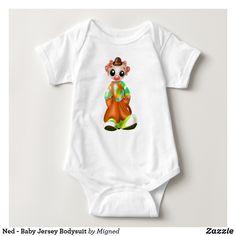 Ned - Baby Jersey Bodysuit