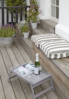 Design your personal lounge on the terrace – garden plants - Terrasse Ideen Painting Wooden Furniture, Antique Furniture, Modern Furniture, Furniture Plans, Furniture Layout, Furniture Outlet, Quality Furniture, Lounge, Rustic Outdoor Furniture
