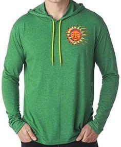 Yoga Clothing For You Mens Sleeping Sun Hoodie Tee Shirt  Price : $22.99 - $25.99 http://yogaclothingforyou.hostedbywebstore.com/Yoga-Clothing-For-You-Sleeping/dp/B00PY6VZD6