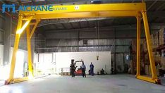 5 ton Double Girder Gantry Crane for our UAE Client - Gantry Crane Cranes For Sale, Gantry Crane, Uae
