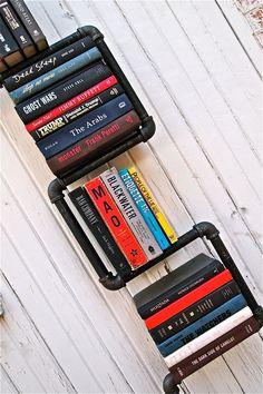 Industrial Pipe Bookshelf 2 Way. $169.00, via Etsy.
