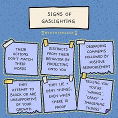 Well, this is really just narcissism as a whole. Gaslighting is simply a trait, making us think we're crazy and not seeing what we're really seeing. Mental And Emotional Health, Emotional Healing, Emotional Abuse, Mental Health Awareness, Narcissistic Behavior, Narcissistic Abuse Recovery, Narcissistic People, Gaslighting Signs, Codependency