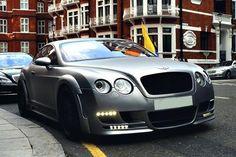 Matte Grey Bentley CGT