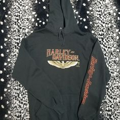 f5783da8fd8 Dm with any questions This is a vintage Harley Davidson Hoodie from a  dealer that is. Depop