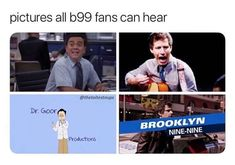 oh oH OH *screaming whilst playing guitar badly* not a doctor, shhhh theme song* Brooklyn Nine Nine Funny, Brooklyn 9 9, Memes Gretchen, Jake And Amy, Netflix, Cinema Tv, Stupid Funny Memes, Funniest Memes, Hilarious