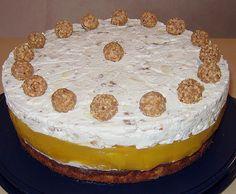 Pfirsich - Mandel - Torte