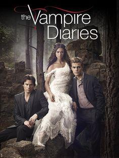<3 <3 THE VAMPIRE DIARIES (2009-present) with Nina Dobrev, Ian Somerhalder & Paul Wesley
