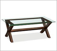 Ava Wood Coffee Table - Espresso stain