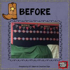Classroom Improvements--July Together We Are Better Linky Interactive Word Wall Ideas