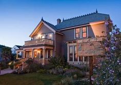 Cass House Inn; Cayucos, California    Chef Jensen Lorenzen and his wife, Grace, helped turn this 19th-century house (originally owned by the town's founder, James Cass) into a luxe five-room inn. Jensen's exceptional four-course dinners are built around locally-sourced ingredients and produce from the inn's garden; the wine list emphasizes Central Coast producers like Tablas Creek.