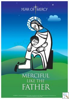 .@McCrimmonsuk - Jesus and the child - Year of Mercy Poster