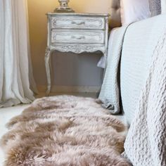 Genuine Sheepskin rugs in Mink offer luxurious comfort and style for your floor or they can be used to drape over furnishings in your home. Our hand picked stock offers deep, soft, wool yarns. Fluffy Rug, Hygge Home, Sheepskin Rug, Luxury Decor, Knitted Blankets, Mink, Color Schemes, Throw Pillows, Flooring