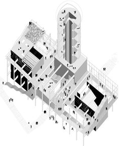 Activity-Condenser, Teufelsberg Berlín - Doch Architectures