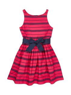 Image result for Ralph Lauren Childrenswear Kleid mit Streifenmuster - Pink 122