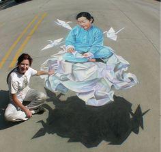 art, chalk, creative, design, Examples, Inspiration, Street, stunning, 3d, street, sidewalk,