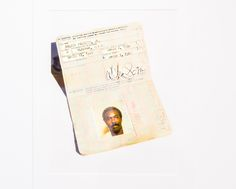 In addition to photographic portraits, the exhibit features photos of rare memorabilia, such as this shot of Wilson Pickett's passport. Wilson Pickett, Photo Exhibit, Photographs, Photos, Memphis, Passport, Portraits, Pictures, Head Shots